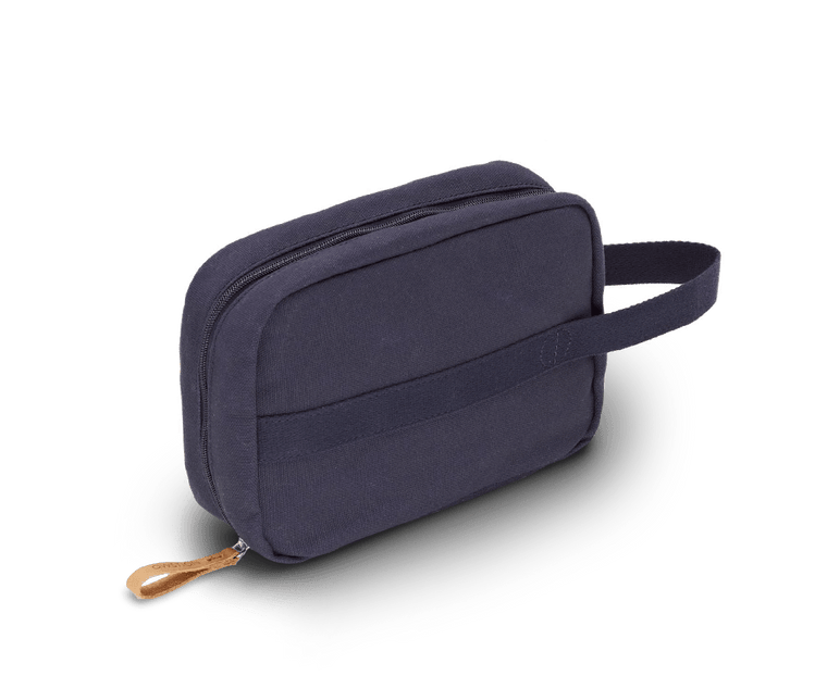 Qwstion Toiletry Kit in Organic Navy