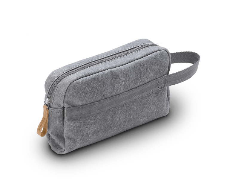 Qwstion Travel Kit in Washed Grey