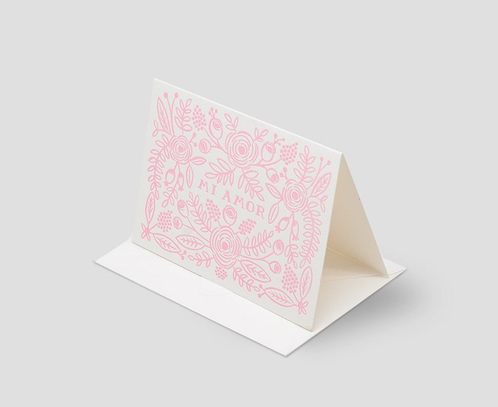 Rifle Paper Co. Cards Mi Amor card by Rifle Paper Co.