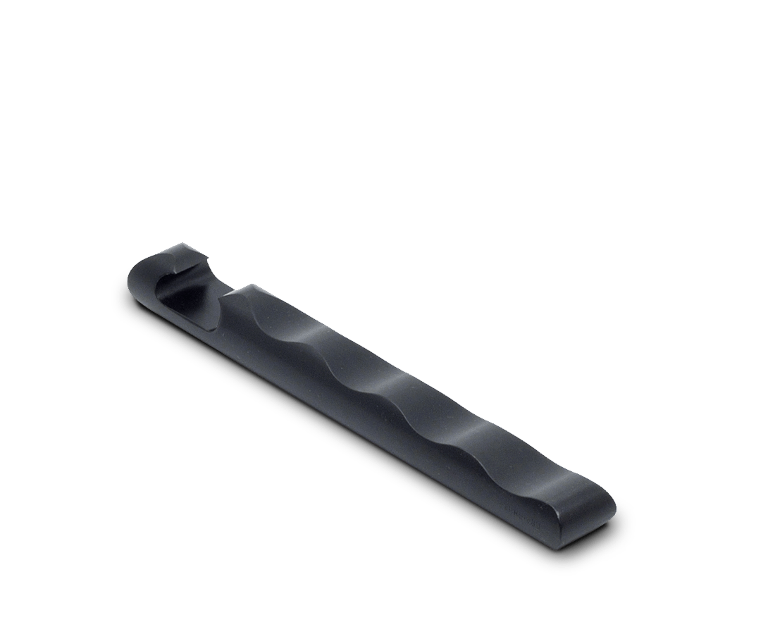 Ripple Bottle Opener in Carbon Black. Craighill. Compendium Design Store. AfterPay, ZipPay accepted.