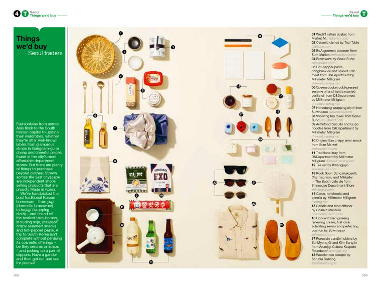The Monocle Travel Guide to Seoul No. 28. Monocle. Compendium Design Store. AfterPay, ZipPay accepted.