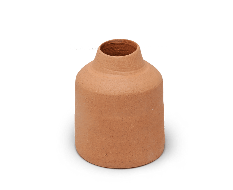 Sole Ceramics terracotta vase