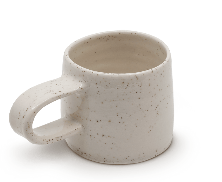 Sole Ceramics Coffee Cup with handle