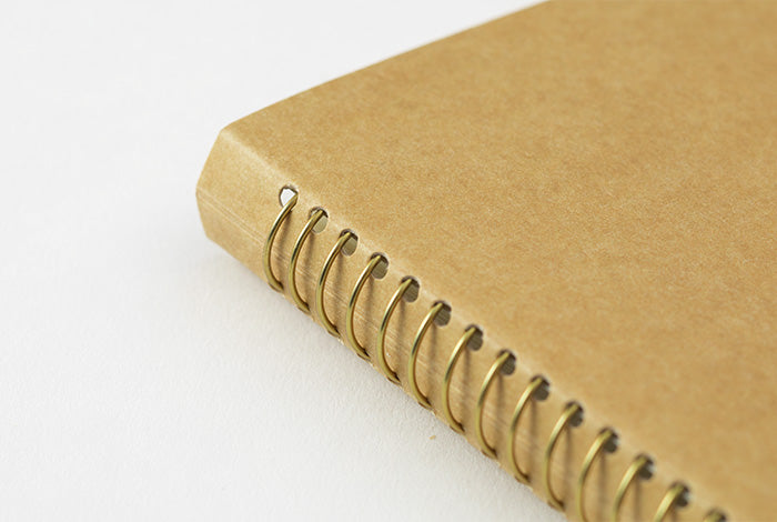Travelers Company Japan Spiral Ring Notebook A5. Compendium Design Store, Fremantle. AfterPay, ZipPay accepted.