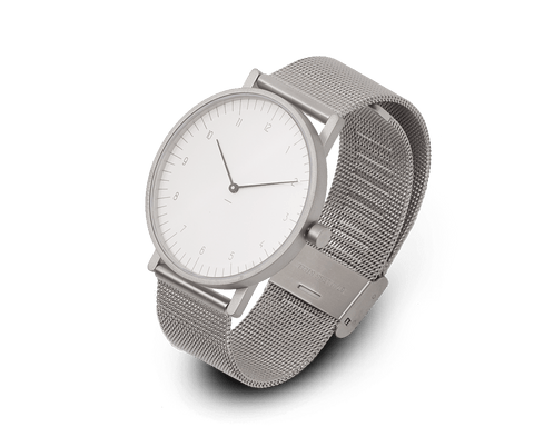 Stock Watches S005CN (Numbers) with Milanese Stainless Steel Mesh Strap