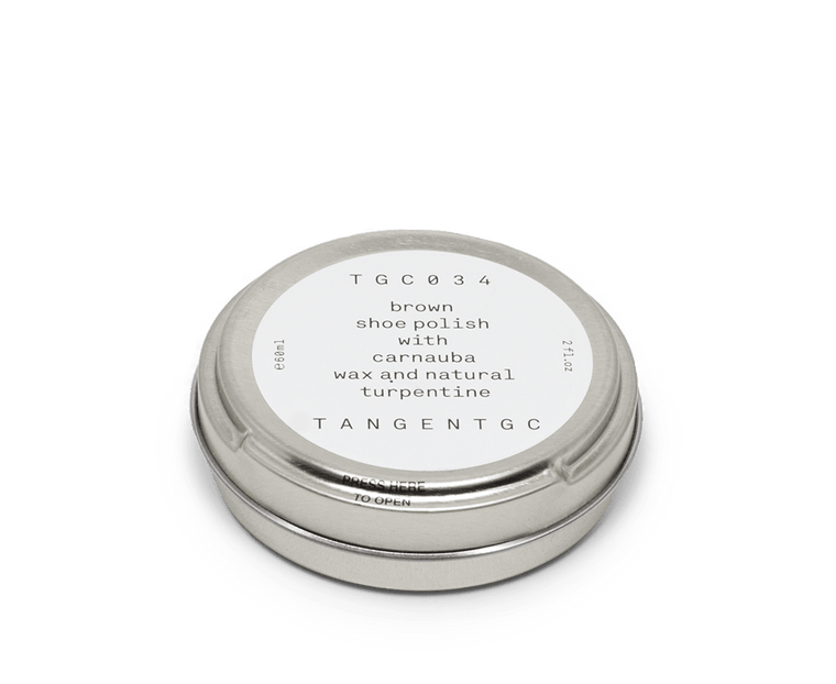 Tangent GC Brown Shoe Polish 60ml