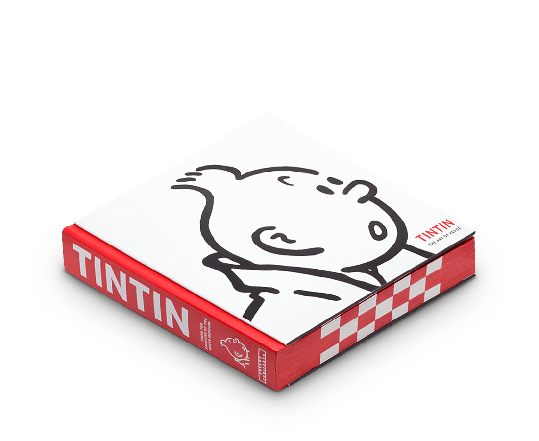 Tintin: The Art of Herge. Compendium Design Store, Fremantle. AfterPay, ZipPay accepted.