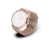 The Horse Original watch in Polished Gold and White with Blush