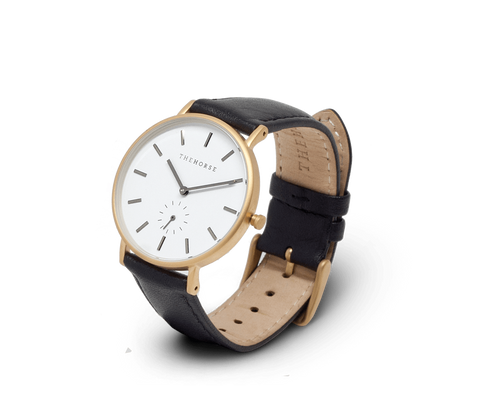 The Horse Classic watch in Gold & Black