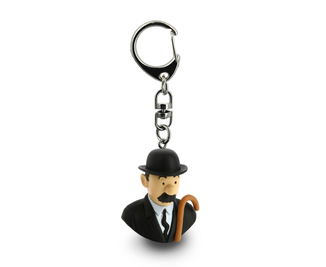Thompson Bust Keyring. Compendium Design Store, Fremantle. AfterPay, ZipPay accepted.