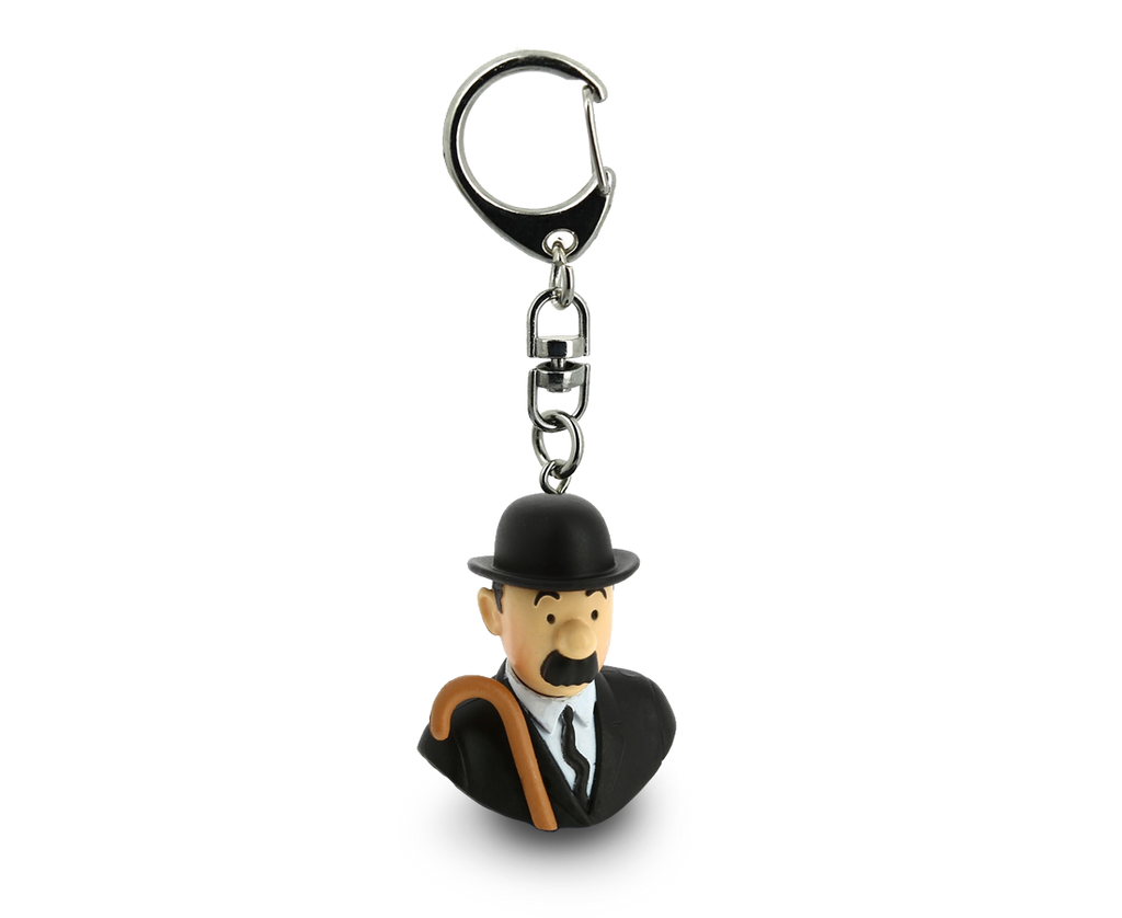 Thomson Bust Keyring. Compendium Design Store, Fremantle. AfterPay, ZipPay accepted.