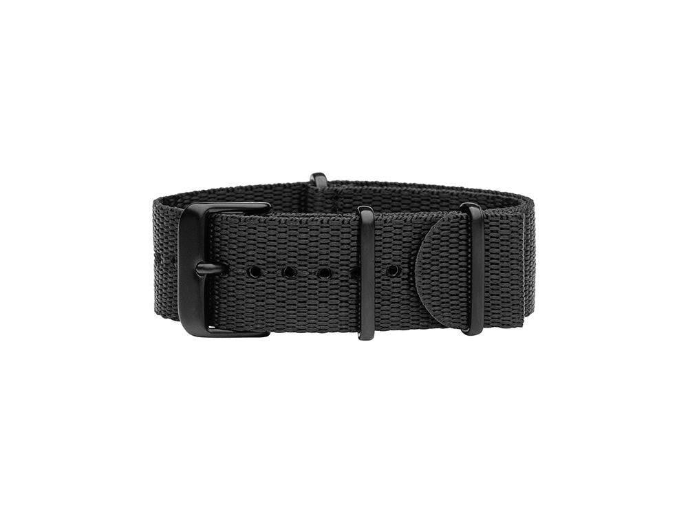 TID Stockholm Watches Black nylon wristband w/Black TID No. 01 Watches · 36mm & 40mm