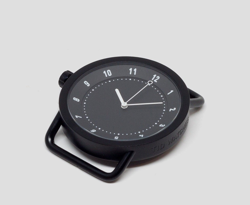 TID Stockholm Watches No 1 40mm watch Black (wristband not included) TID No. 01 Watches · 36mm & 40mm