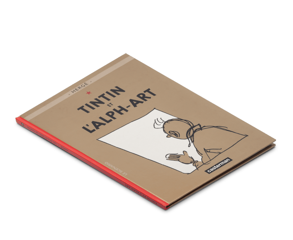 The Adventures of Tintin Album: Tintin et L'Alph-Art (in French). Compendium Design Store, Fremantle. AfterPay, ZipPay accepted.