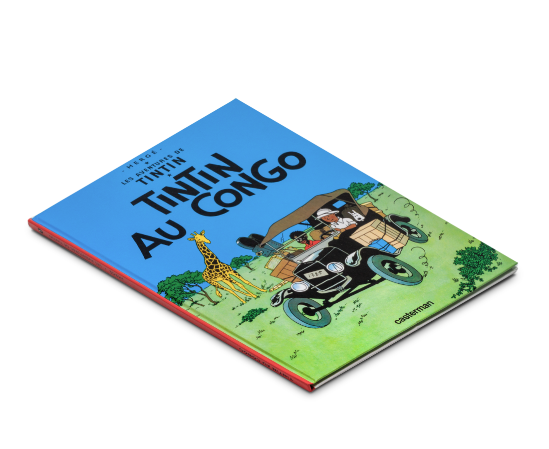 The Adventures of Tintin Album: Tintin Au Congo (in French). Compendium Design Store, Fremantle. AfterPay, ZipPay accepted.