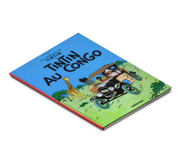 The Adventures of Tintin Album: Tintin Au Congo (in French)