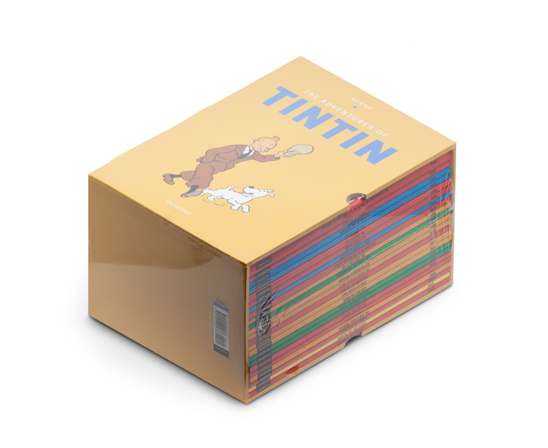 The Adventures of Tintin Box Set · Soft Covers