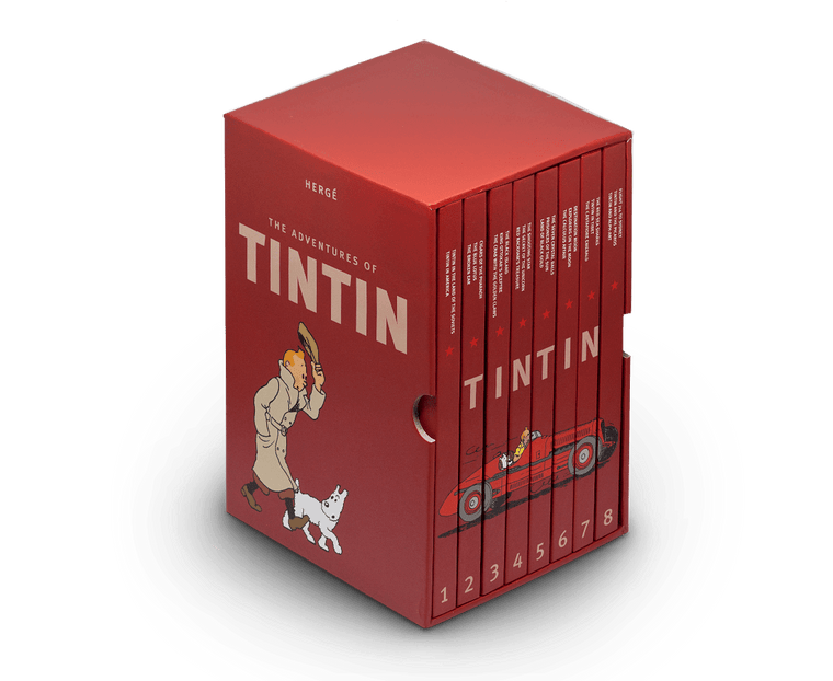 The Adventures of Tintin Box Set 2015 Edition