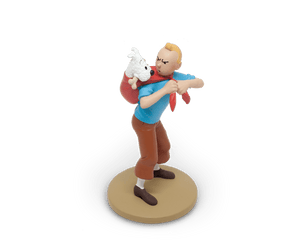 Tintin and Incorrigible Snowy Resin Figurine