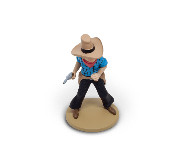 Tintin Cowboy Resin Figurine. Moulinsart. Compendium Design Store. AfterPay, ZipPay accepted.
