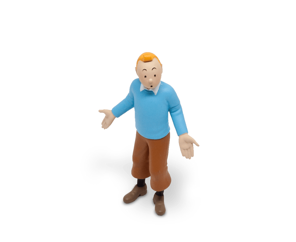 Tintin In His Blue Pullover Figurine 8.5cm. Compendium Design Store, Fremantle. AfterPay, ZipPay accepted.