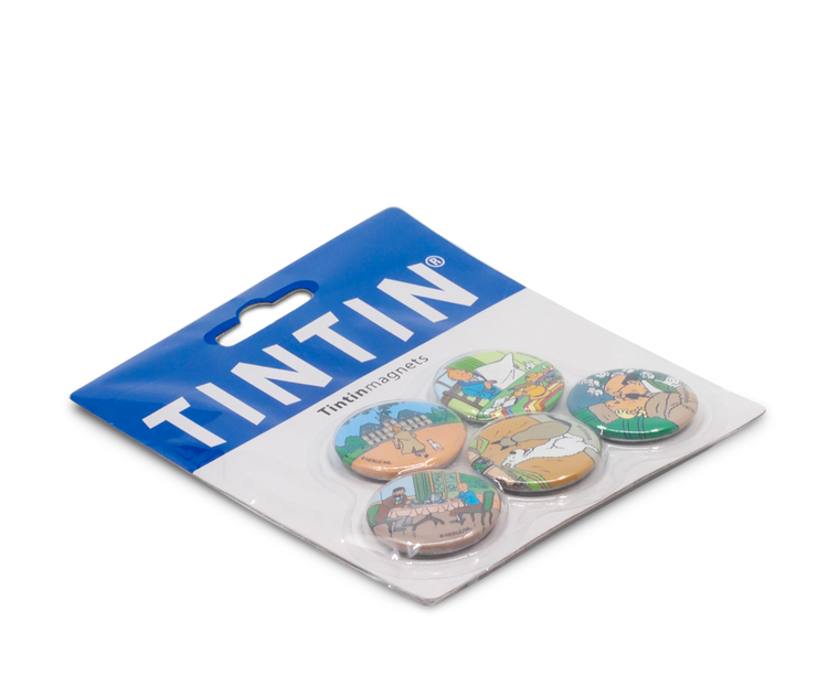 Tintin Magnets Set of 5