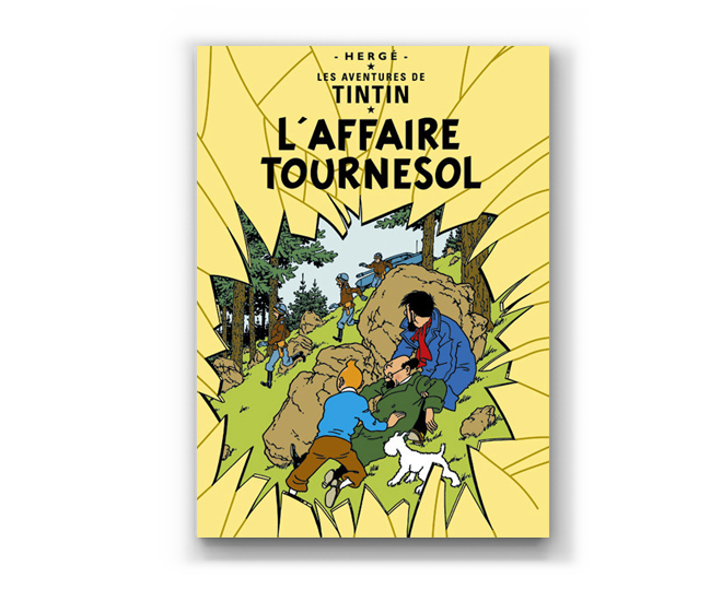 The Adventures of Tintin Album: L'Affaire Tournesol (in French)
