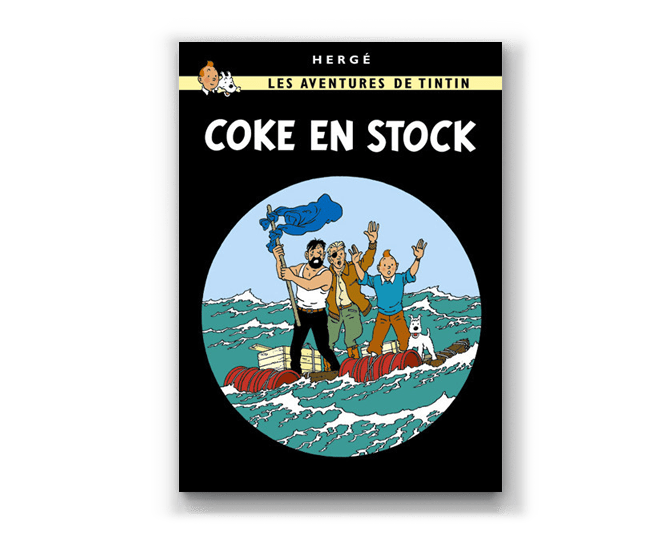 The Adventures of Tintin Album: Coke en Stock (in French)