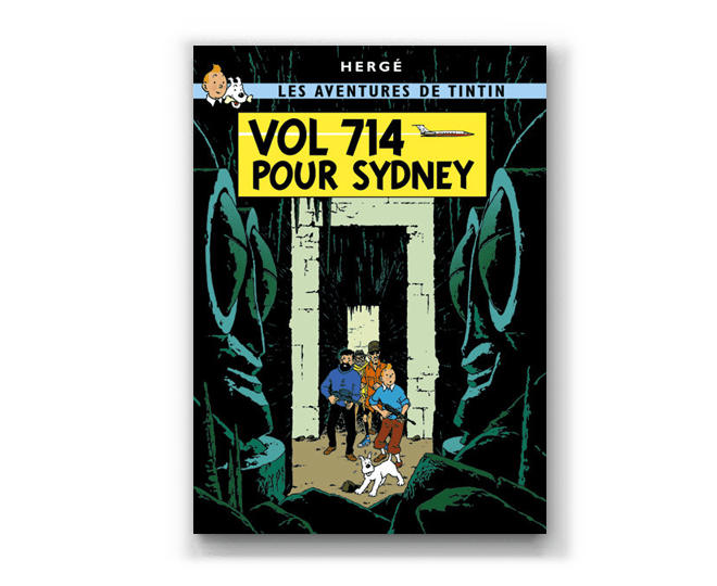 The Adventures of Tintin Album: Vol 714 Pour Sydney (in French). Compendium Design Store, Fremantle. AfterPay, ZipPay accepted.