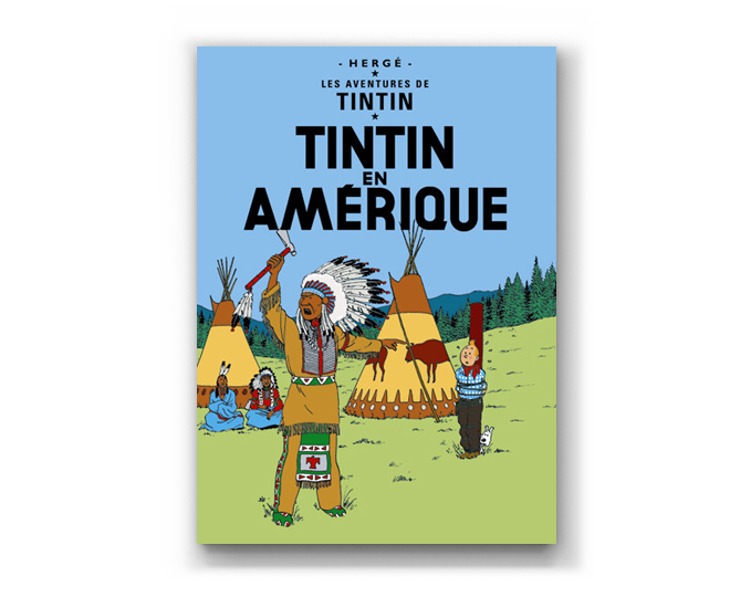 The Adventures of Tintin Album: Tintin En Amerique (in French)