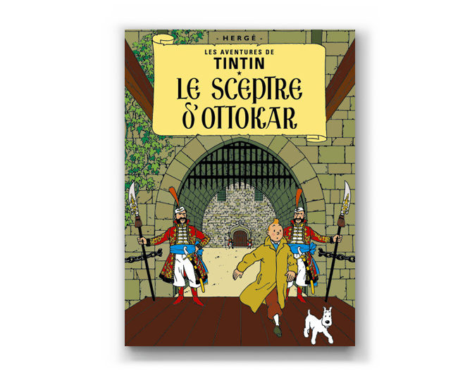 The Adventures of Tintin Album: Le Sceptre D'Ottokar (in French)