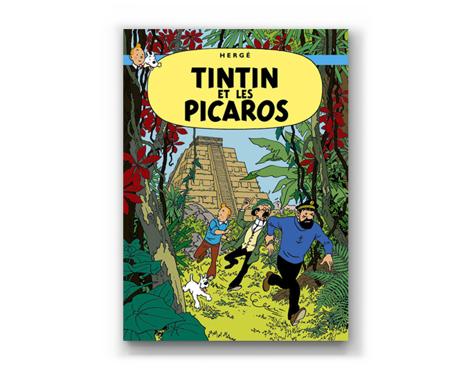 The Adventures of Tintin Album: Tintin et les Picaros (in French)