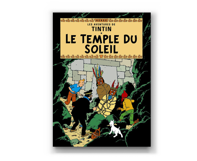 The Adventures of Tintin Album: Le Temple Du Soleil (in French)