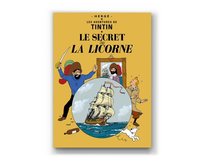The Adventures of Tintin Album: Le Secret de la Licorne (in French)