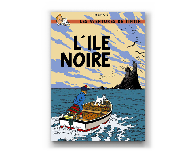 The Adventures of Tintin Album: L'Ile Noire (in French)
