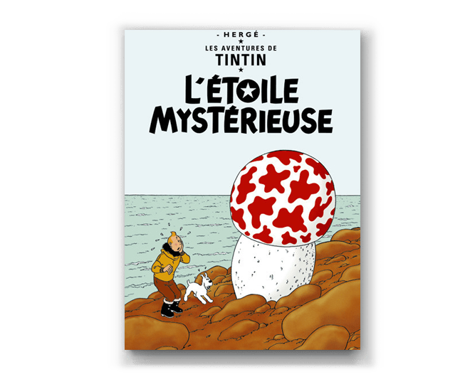 The Adventures of Tintin Album: L'Etoile Mysterieuse (in French). Compendium Design Store, Fremantle. AfterPay, ZipPay accepted.