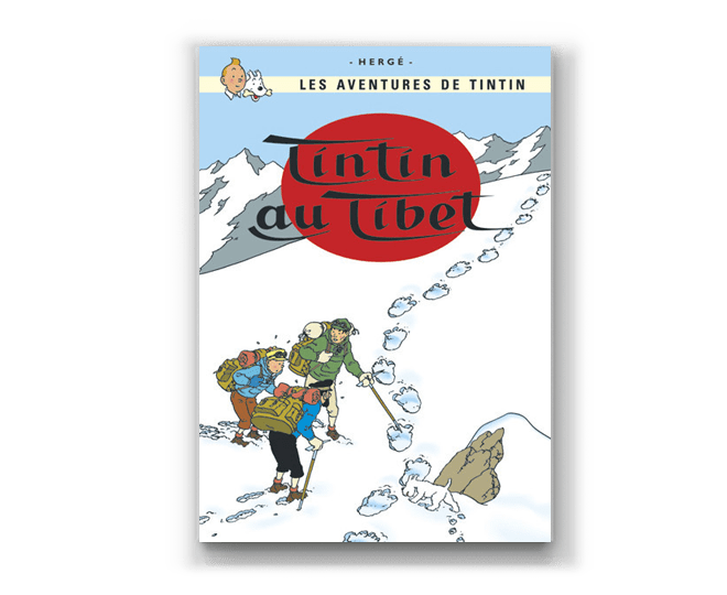 The Adventures of Tintin Album: Tintin au Tibet (in French)