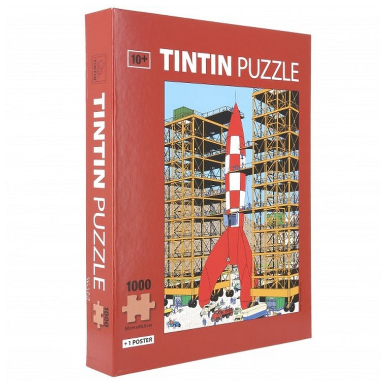 Tintin Puzzle · Ready for Take Off