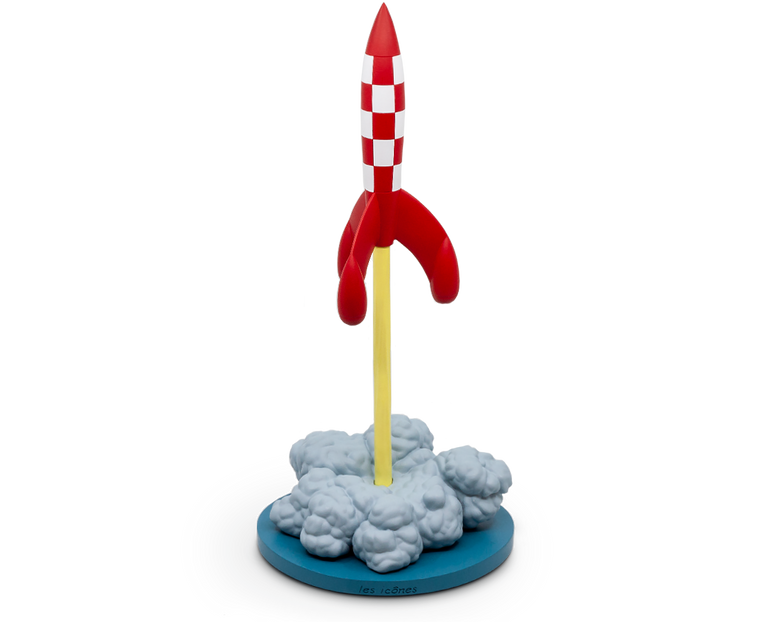 Rocket Taking Off XL Resin · Icon Series