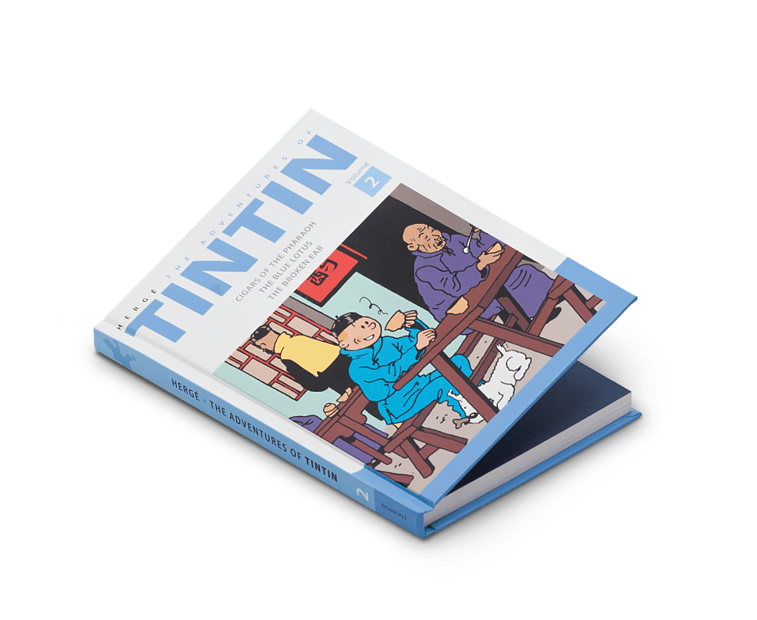 Moulinsart The Adventures of Tintin Comics Vol. 2. Tintin. Compendium Design Store. AfterPay.