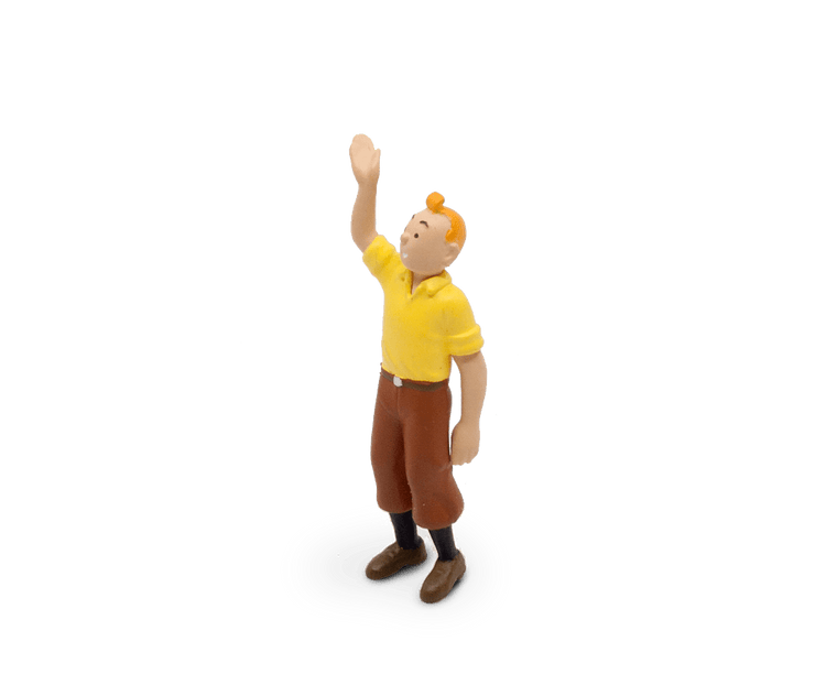 Tintin Welcomes You PVC Figurine 6cm