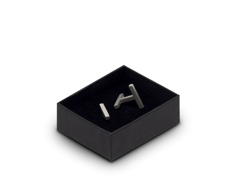 Tom Pigeon Béton Series Cufflinks · Solid Silver
