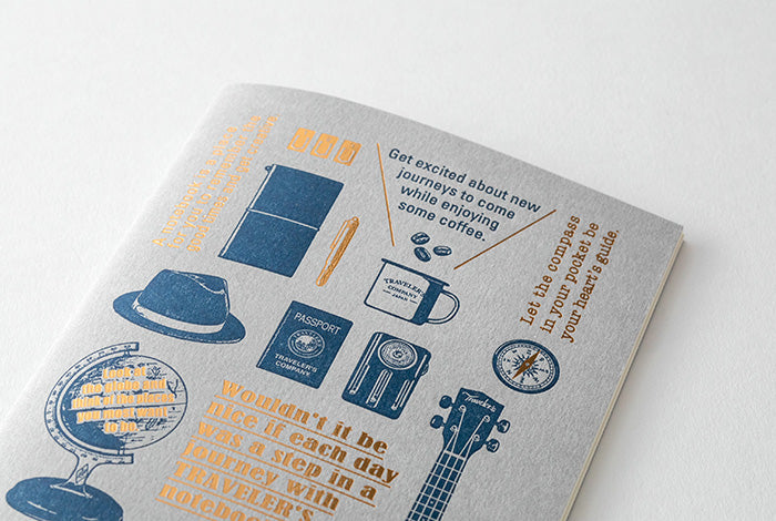 'Travel Tools' Edition Notebook Refills New