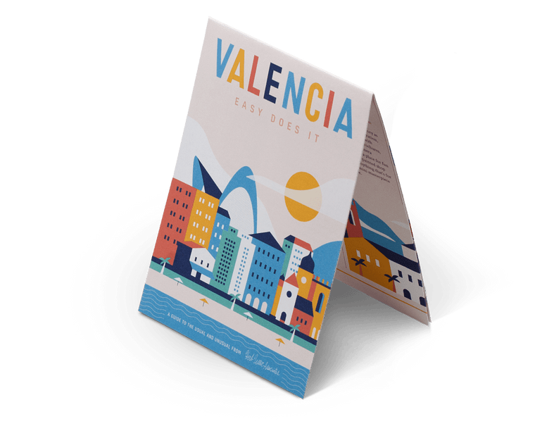 Valencia: Easy Does It. City Guide & Map by Herb Lester