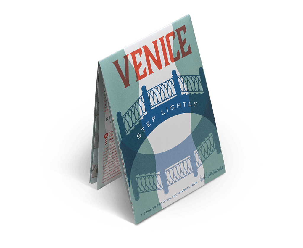 Venice: Step Lightly. City Guide & Map by Herb Lester. Compendium Design Store, Fremantle. AfterPay, ZipPay accepted.