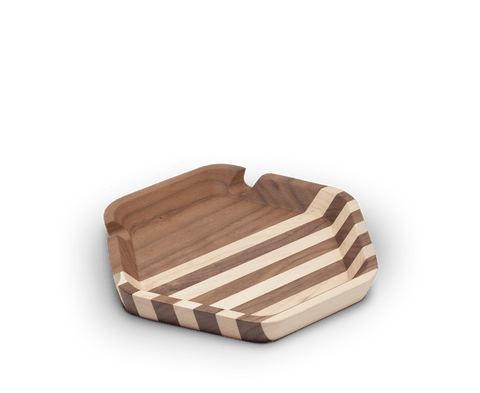 Walnut catch all tray. Maxx & Unicorn. Compendium Design Store. AfterPay, ZipPay accepted.