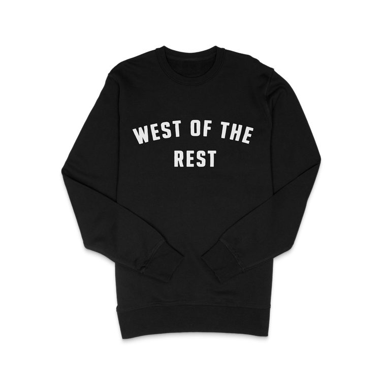 Freo Goods Co 'West Of The Rest' Sweater · Mens in Black