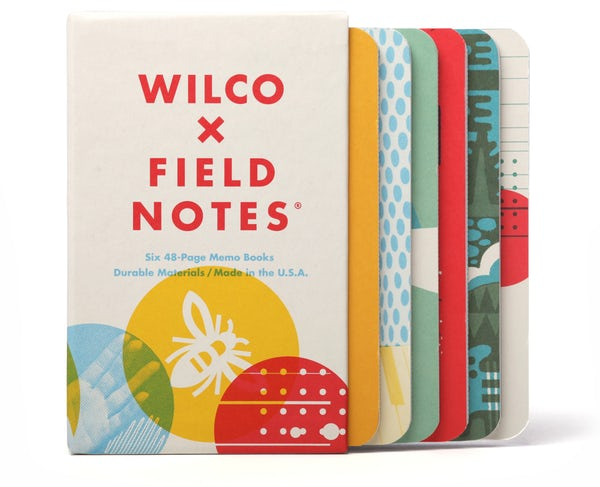 Wilco x Field Notes 6 Memo Books Box Set