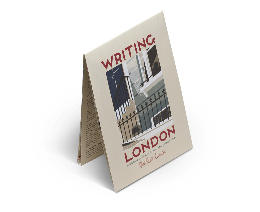 Writing London (2nd Edition). City Guide & Map by Herb Lester. Compendium Design Store, Fremantle. AfterPay, ZipPay accepted.