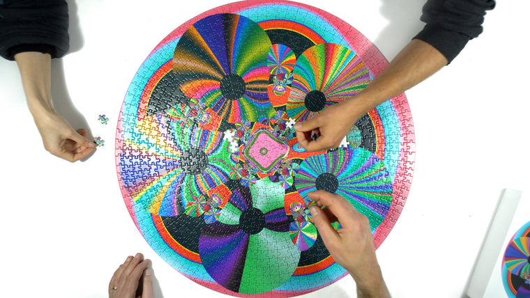 Jonathan Zawada Artists' Edition 1000 Piece Circle Puzzle